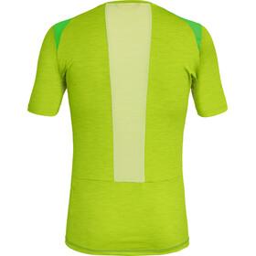 SALEWA Pedroc Hybrid 2 Dry Maglietta a maniche corte Uomo, verde